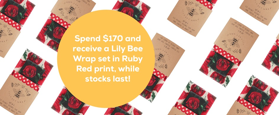 Lily Wrap - Ruby Red