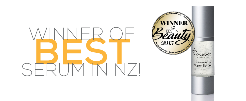 NZ Bauer Best in Beauty Awards, Best Serum 2015
