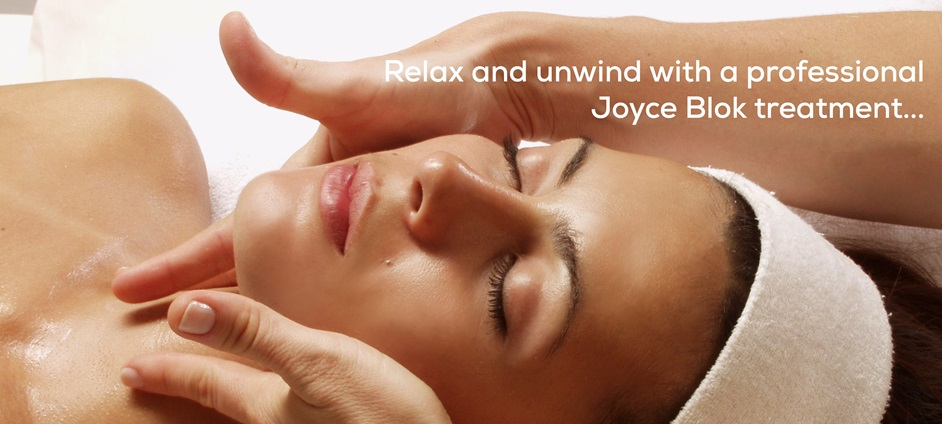 Relax and unwind with Joyce Blok Professional Treatments